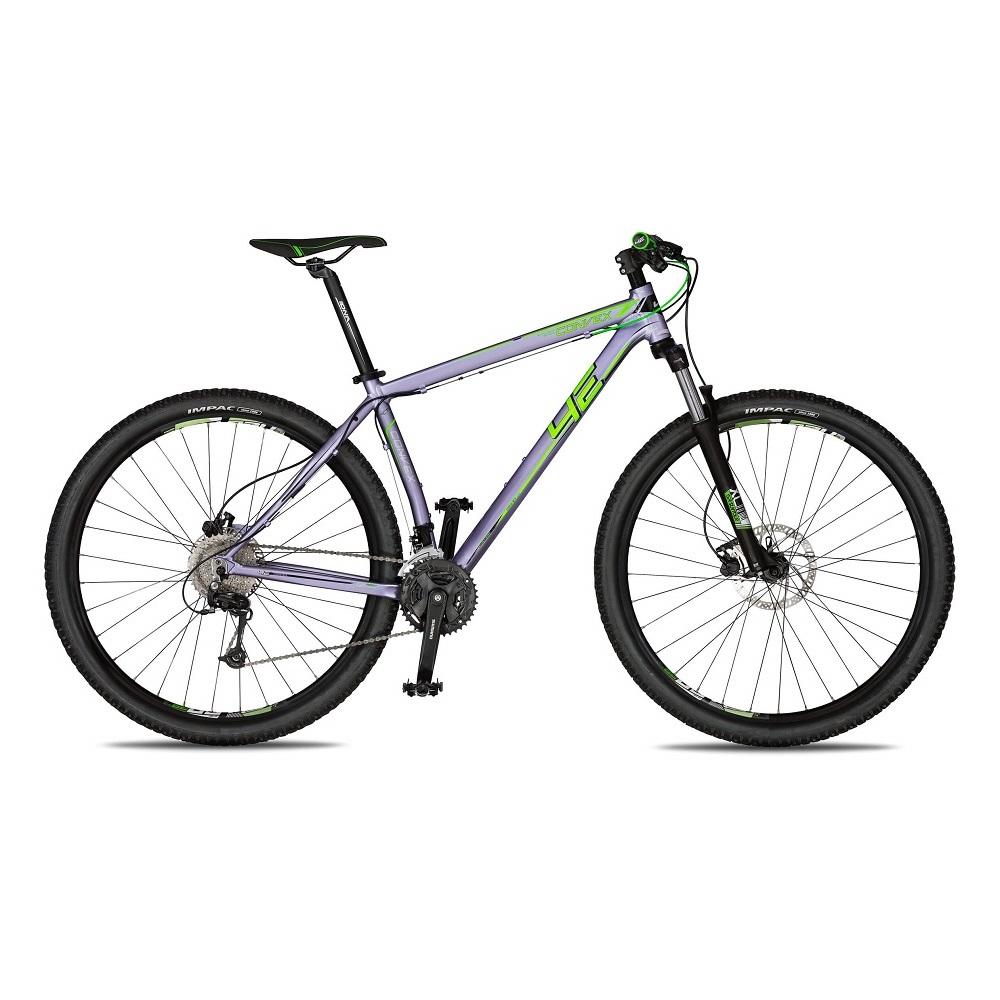 """Horský bicykel 4EVER Convex 29'' - model 2018 strieborno-zelená - 19"""" - Záruka 10 rokov"""