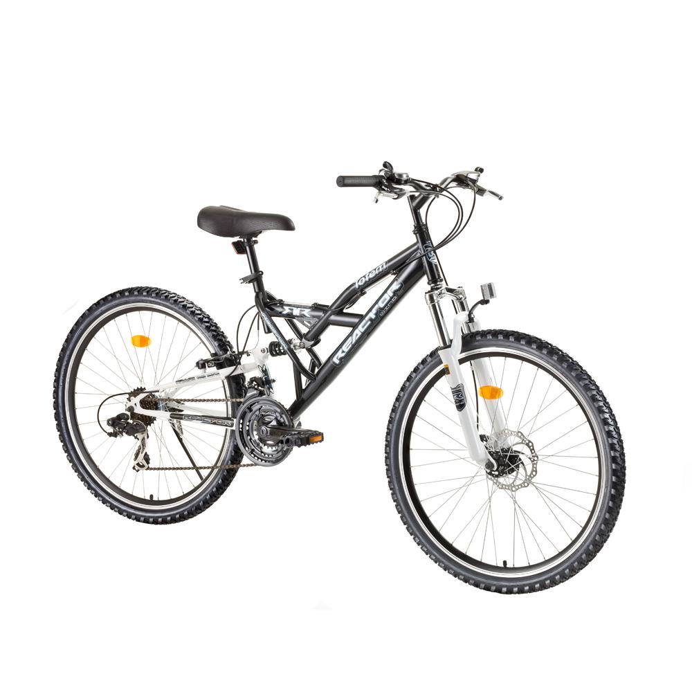 """Celoodpružený bicykel Reactor Totem 26"""" - model 2017 Black"""