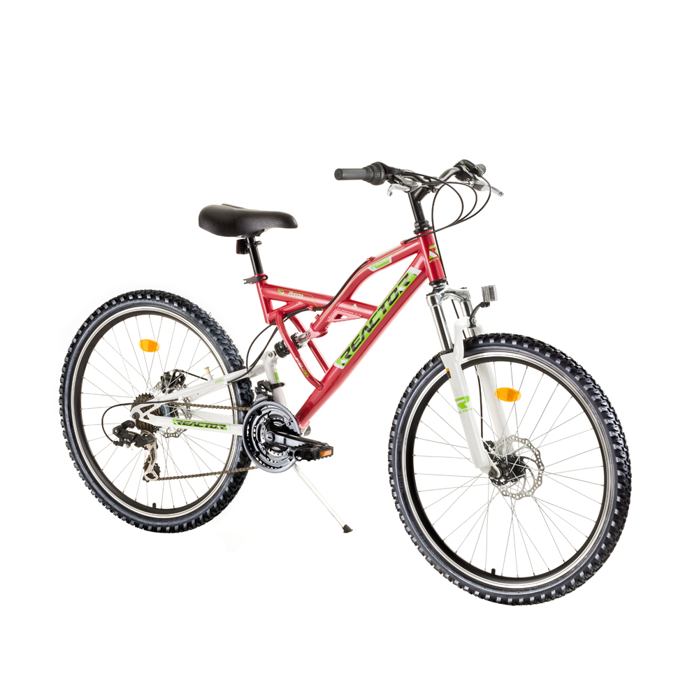 Celoodpružený bicykel Reactor Force 26