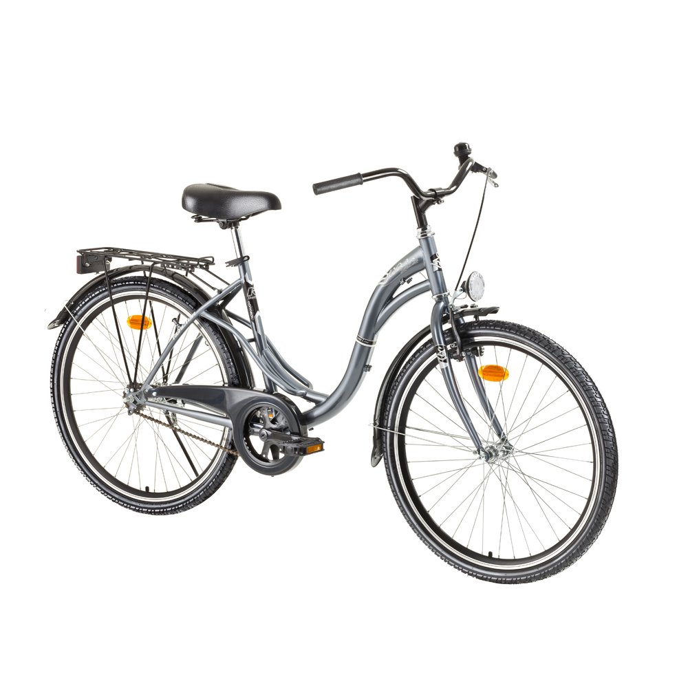 "Mestský bicykel Reactor Swan 26"" - model 2017 Graphite"