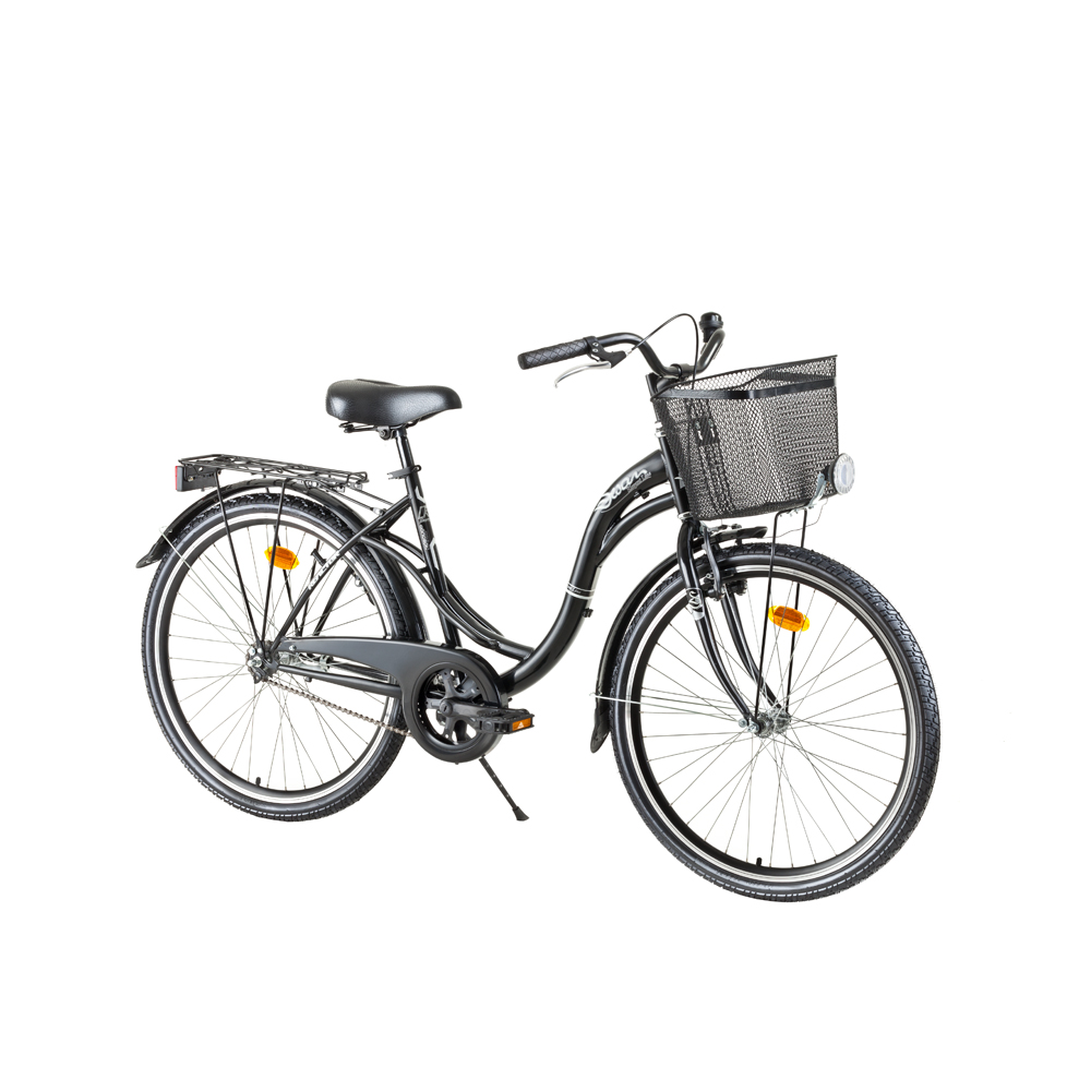 "Mestský bicykel Reactor Swan 26"" - model 2017 Black"