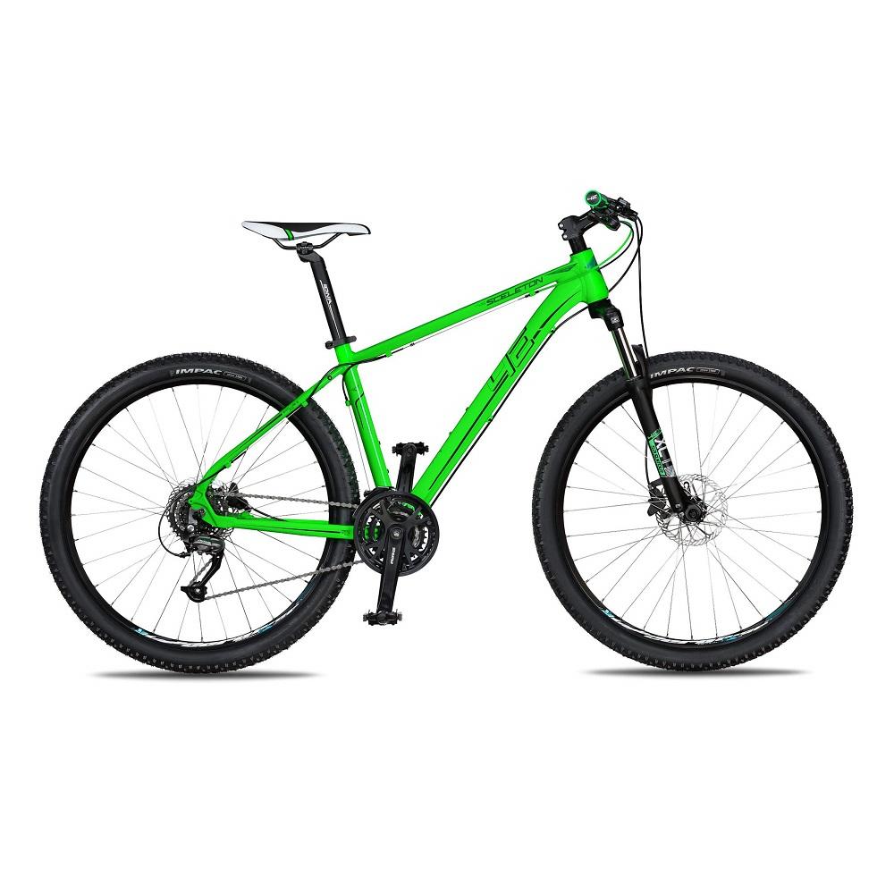 "Horský bicykel 4EVER Sceleton 27,5"" - model 2018 zelená - 19"" - Záruka 10 rokov"