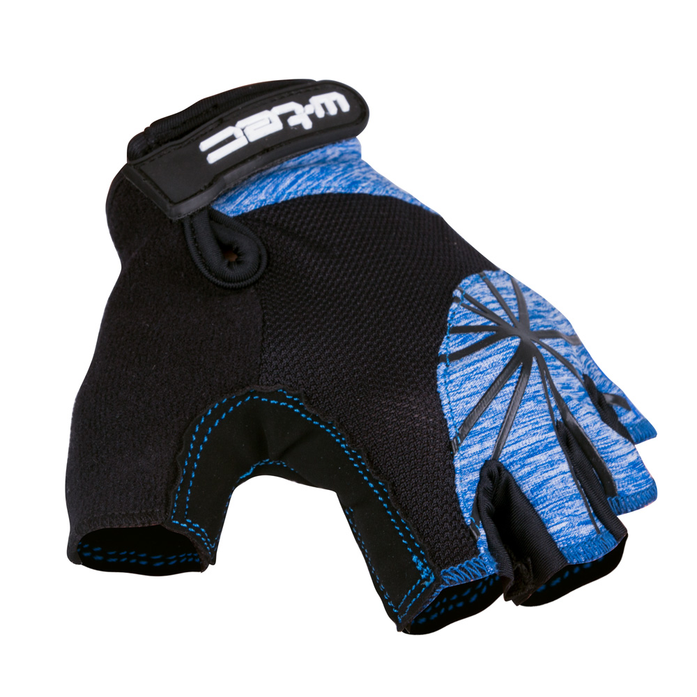 Dámske cyklo rukavice W-TEC Klarity AMC-1039-17 čierno-modrá - XS
