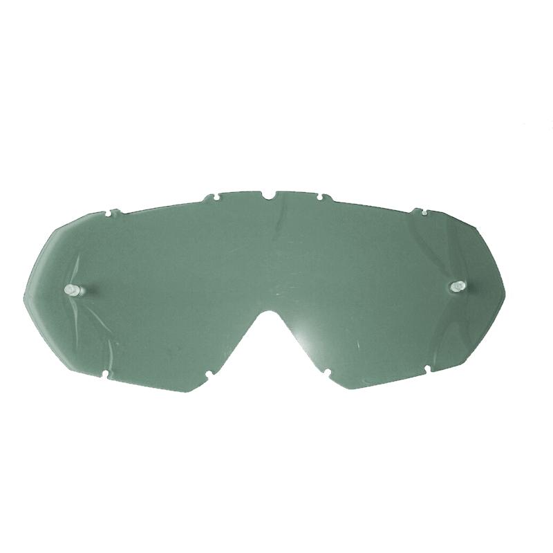 Náhradné sklo k moto okuliarom iMX Mud Dark Smoke s pinmi