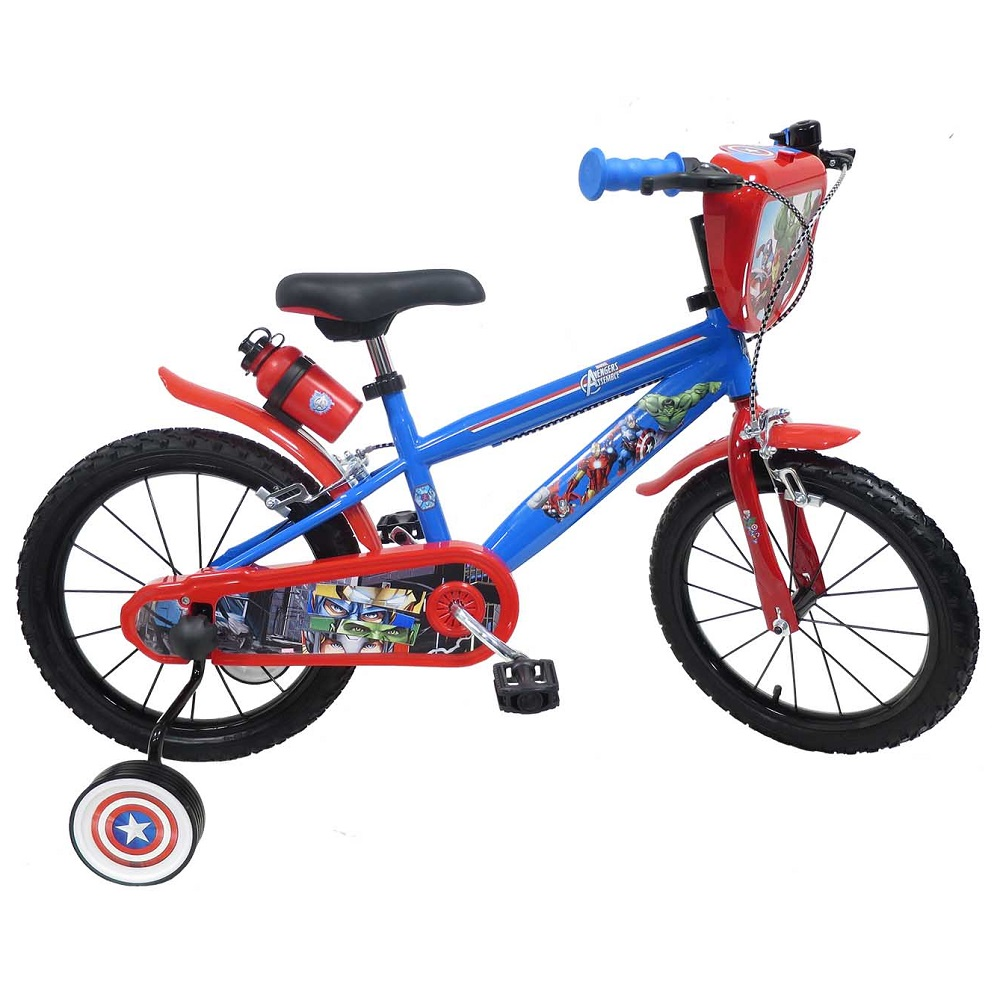 "Detský bicykel Avengers 2416 16"" - model 2018"