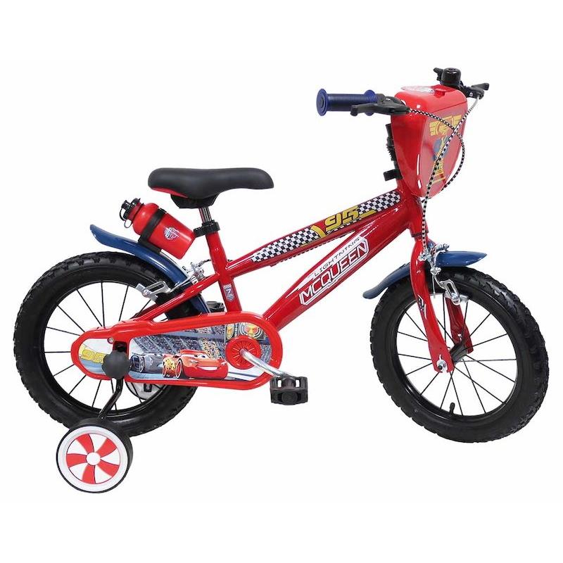 "Detský bicykel Coral Disney Cars 14"" - model 2018"
