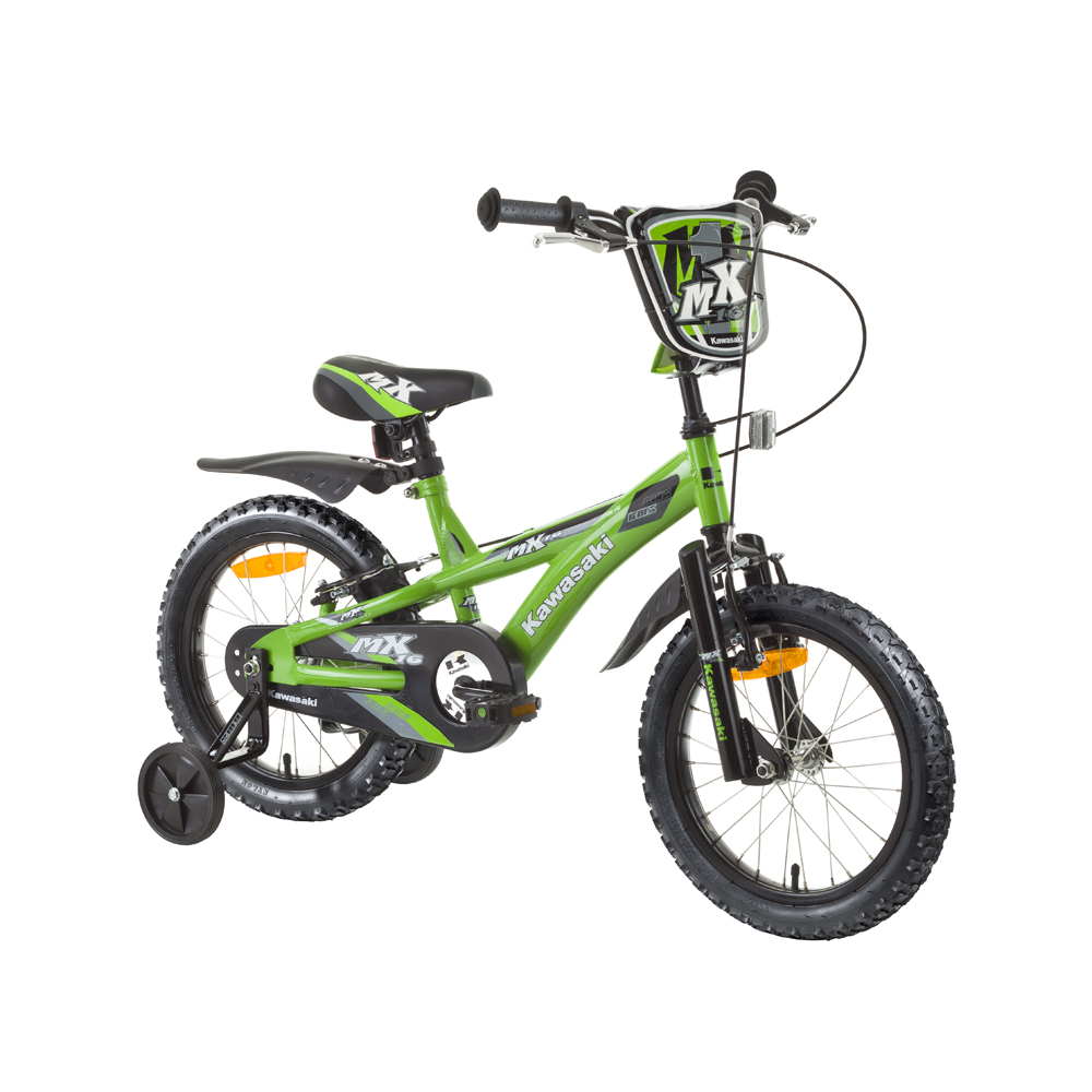 "Detský bicykel KAWASAKI Dirt 16"""