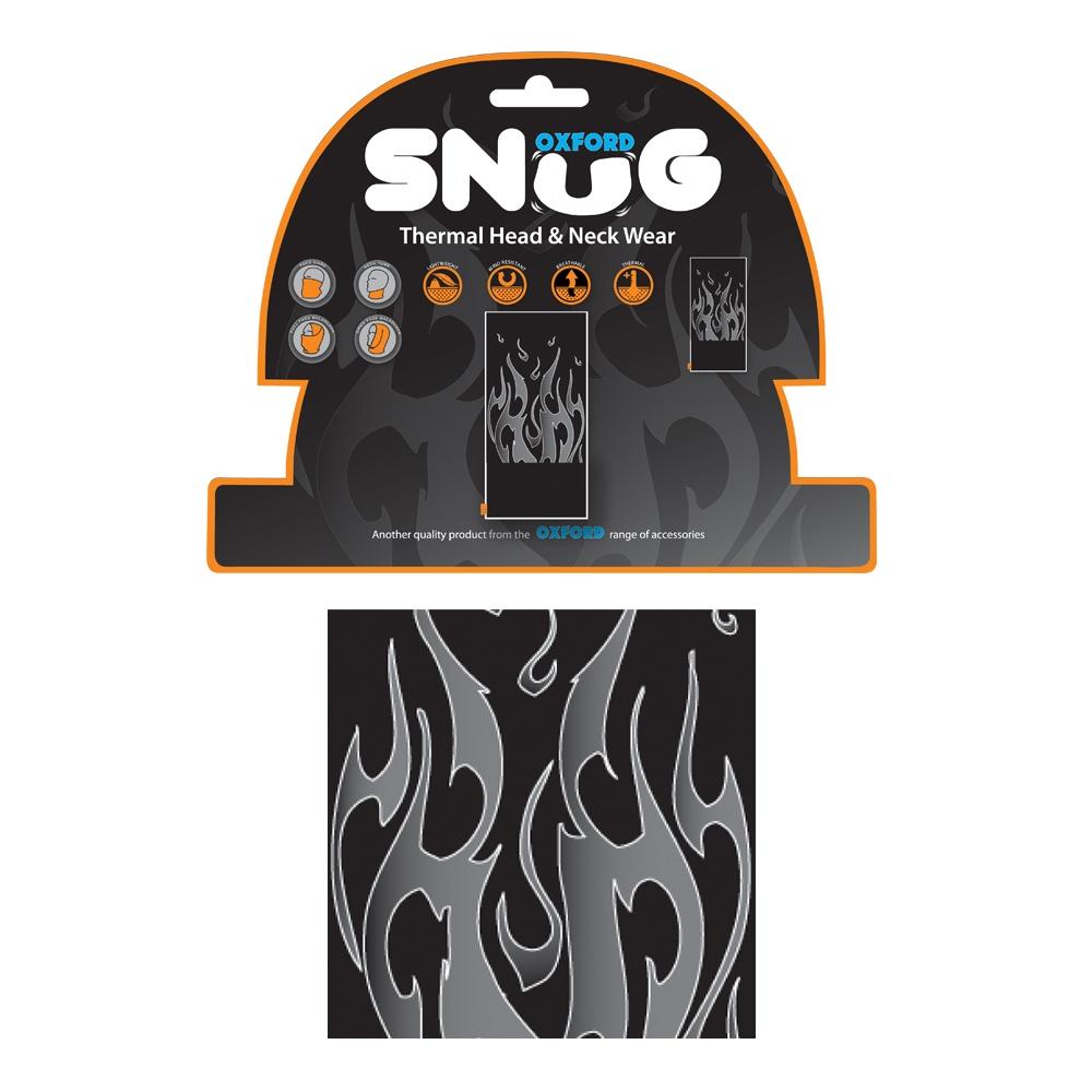 Univerzálny multifunkčný nákrčník Oxford Snug Flame