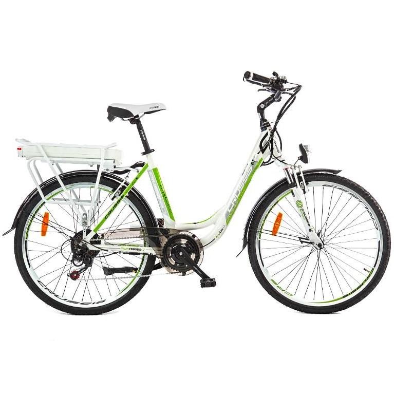 """Mestský elektrobicykel Crussis e-City 1.5 17"""" - Záruka 10 rokov"""