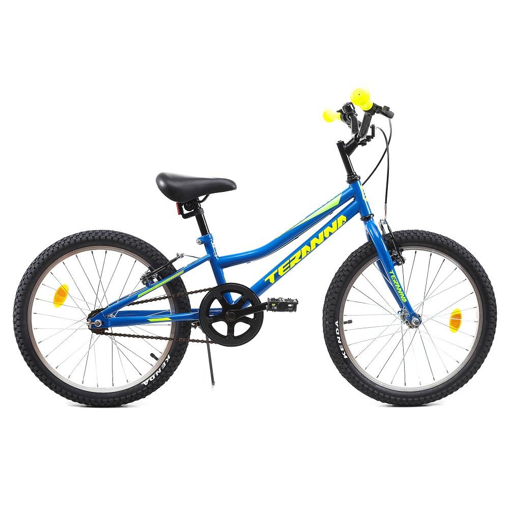 """Detský bicykel DHS Teranna 2003 20"""" - model 2019 blue - Záruka 10 rokov"""