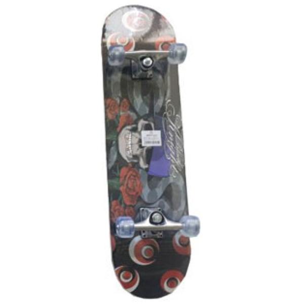Skateboard Spartan Super Board Black Knight