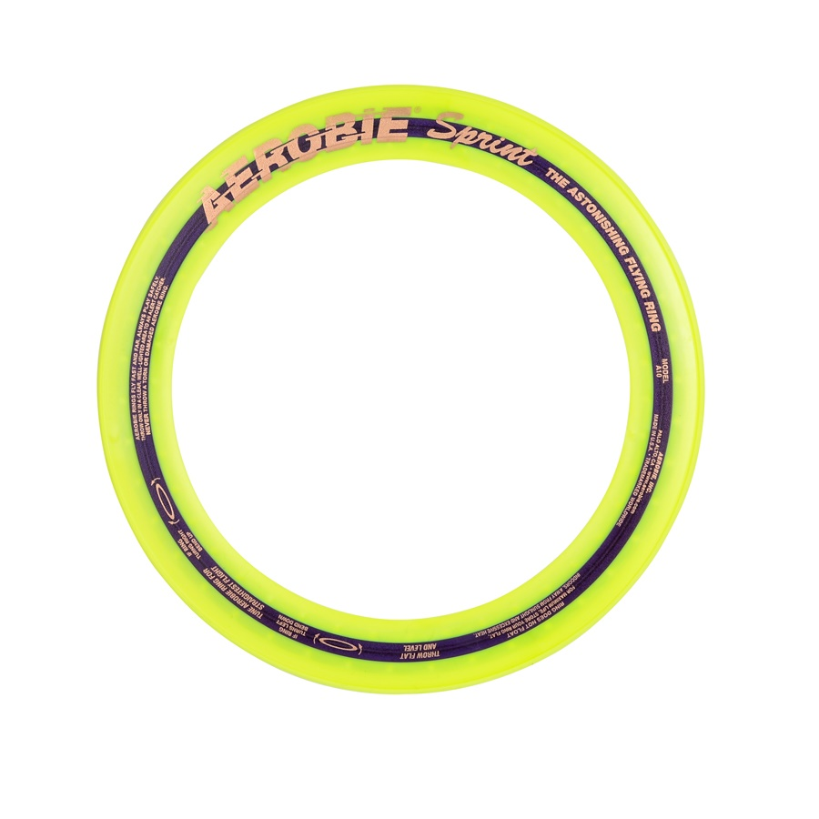 Lietajúci kruh Aerobie SPRINT žltá