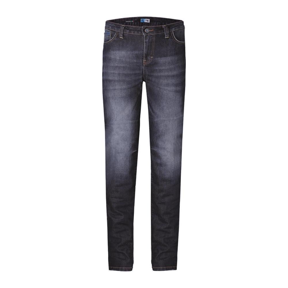 Dámske moto jeansy PMJ Legend Lady modrá - 28