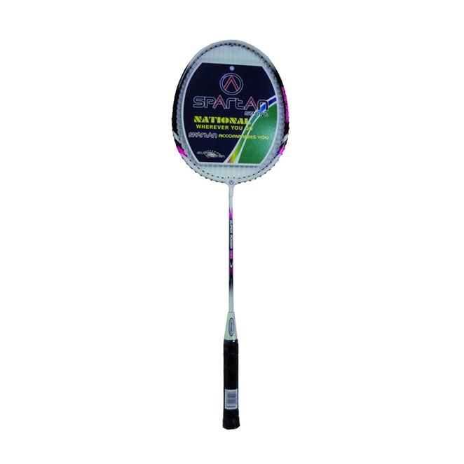 Badmintonová raketa SPARTAN BOSA ružová
