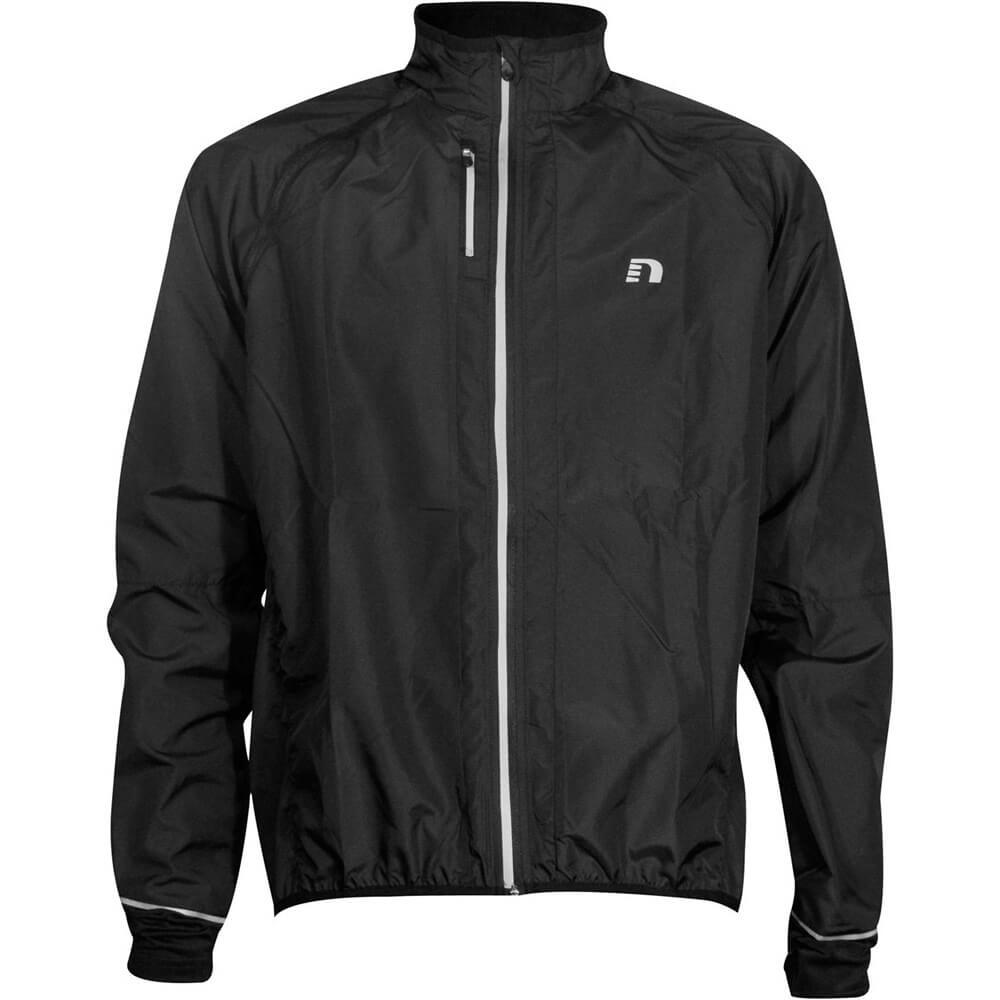 Cyklistická bunda Newline Bike Convertible Jacket čierna - L