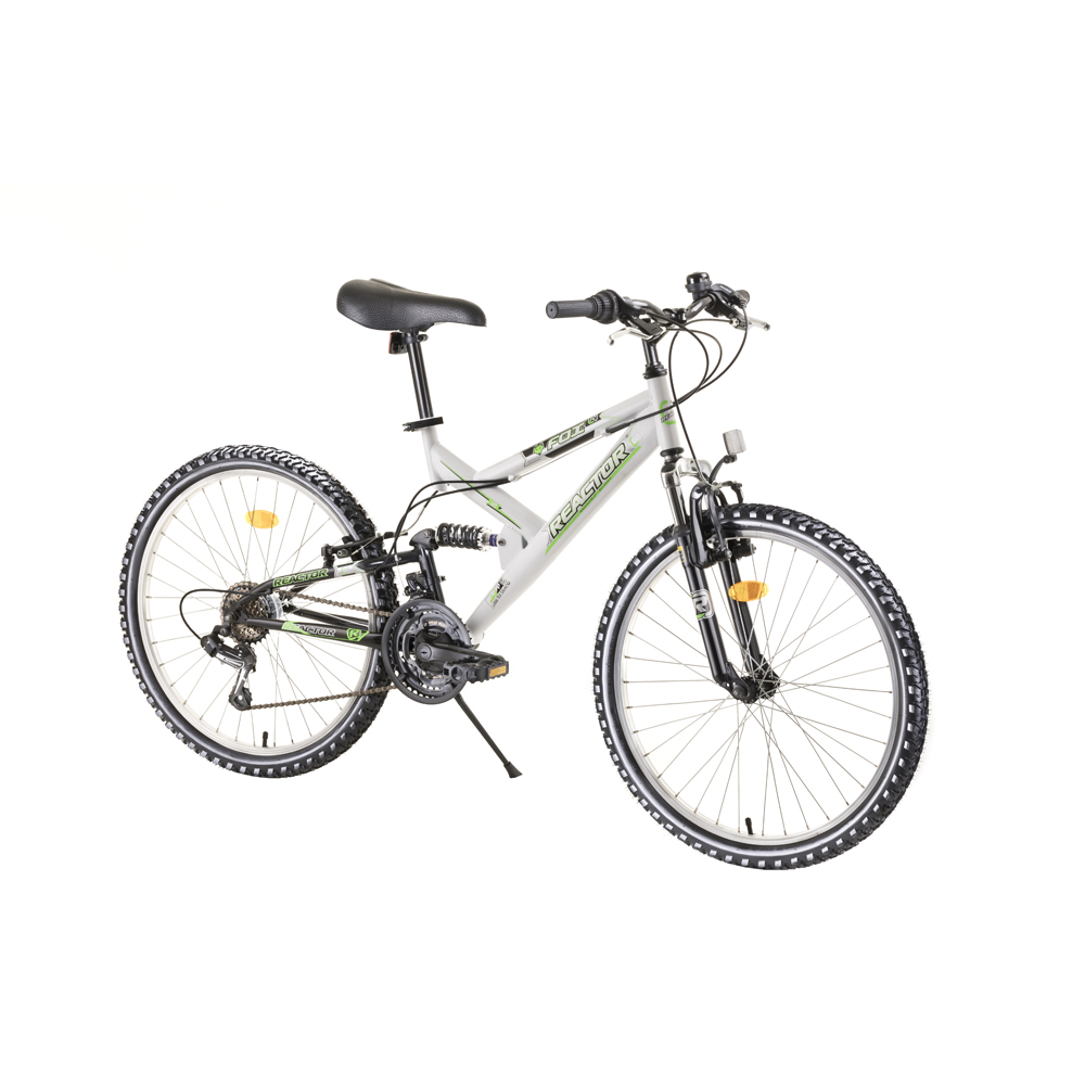 Juniorský celoodpružený bicykel Reactor Fox 24