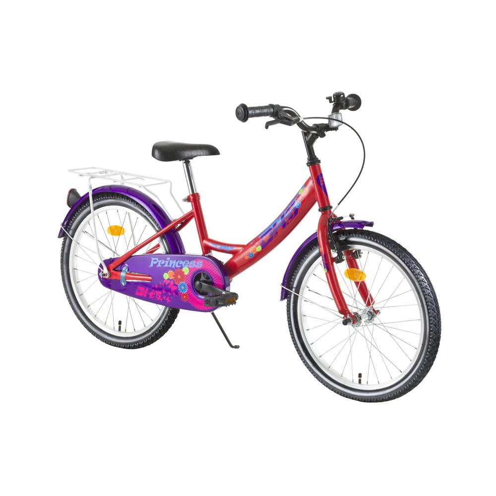 """Detský bicykel DHS Princess 2002 20"""" - model 2016 Red - Záruka 10 rokov"""
