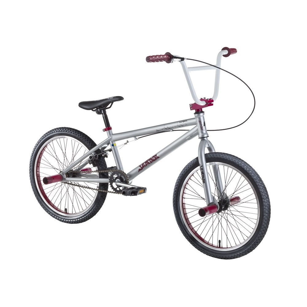 "Freestyle bicykel DHS Jumper 2005 20"" - model 2018 Light Grey - Záruka 10 rokov"