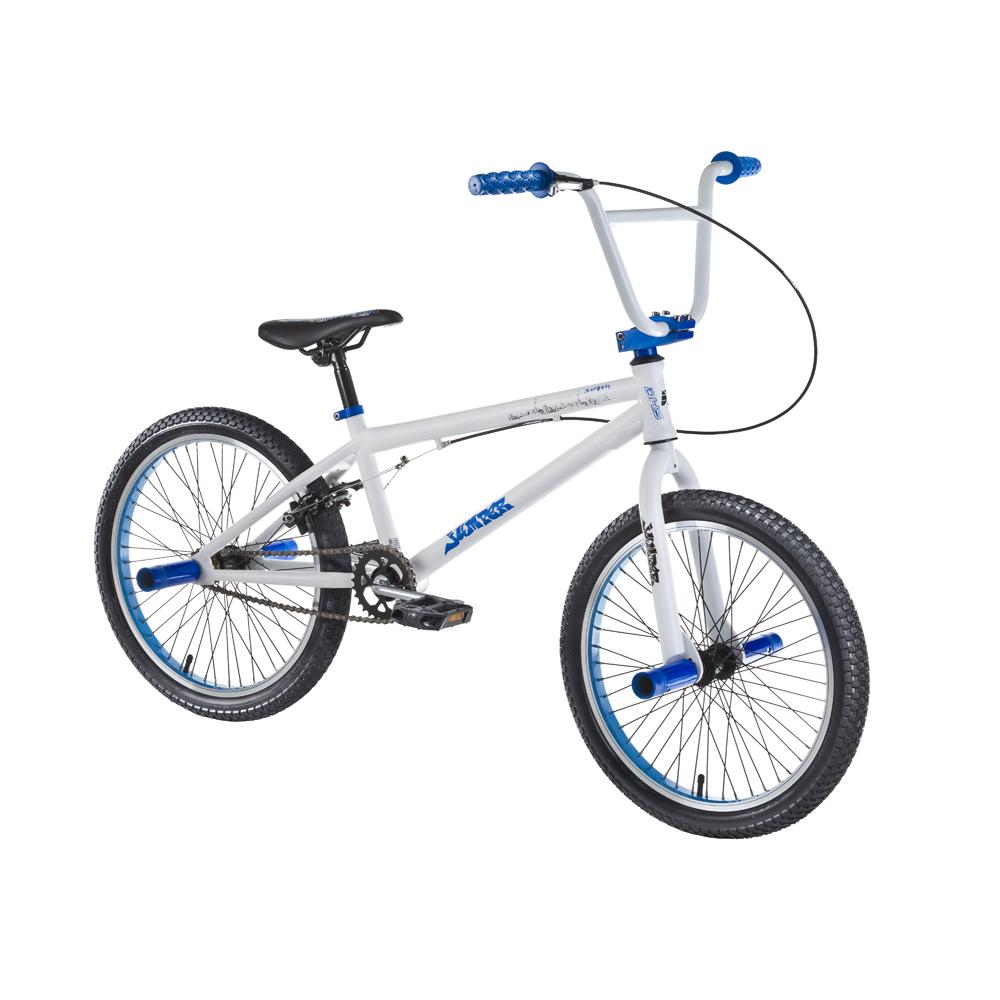 "Freestylový bicykel DHS Jumper 2005 20"" - model 2016 White-Blue - Záruka 10 rokov"