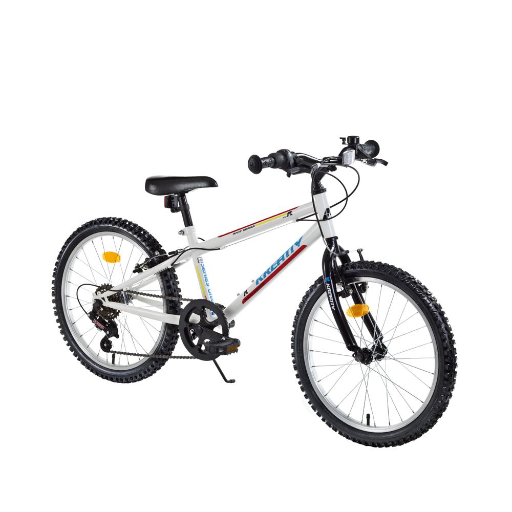 """Detský bicykel Kreativ 2013 20"""" - model 2017 White - Záruka 10 rokov"""