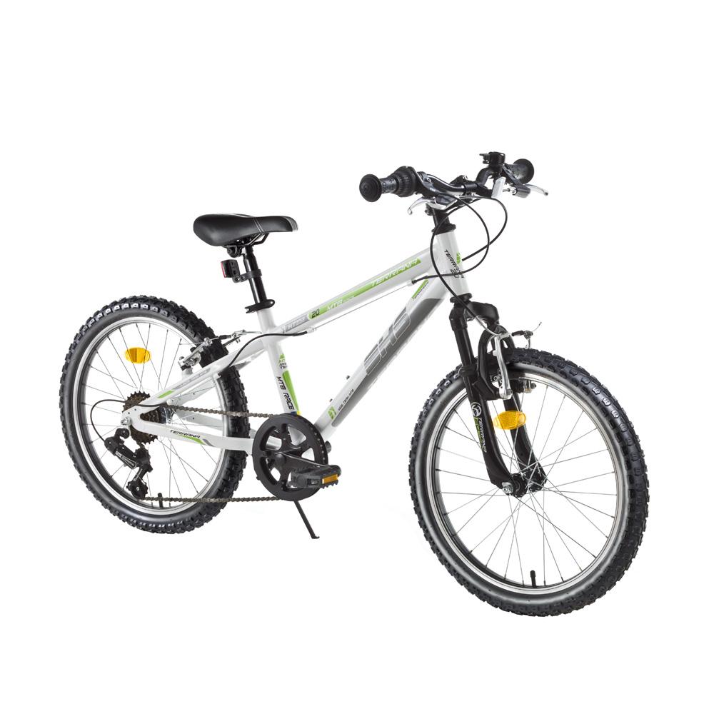 "Detský bicykel DHS Terrana 2023 20"" - model 2016 White - Záruka 10 rokov"