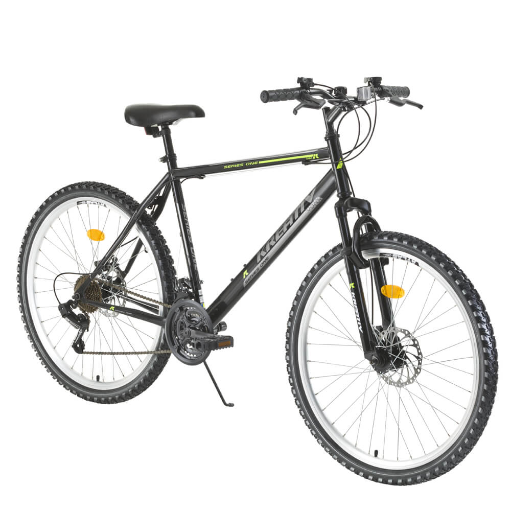 """Horský bicykel Kreativ 2605 26"""" - model 2016 Black - Záruka 10 rokov"""