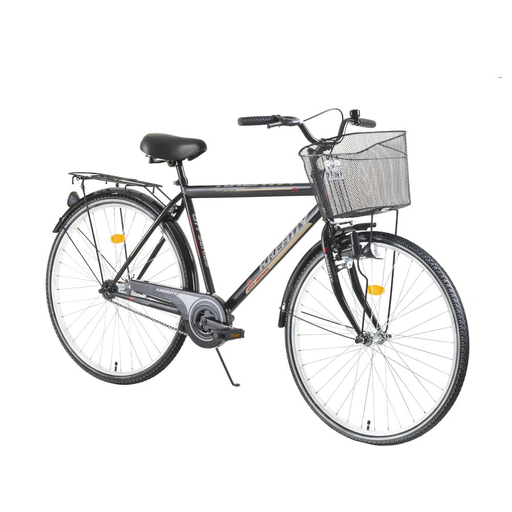 Trekingový bicykel Kreativ City Series 2811 - model 2017 Black - Záruka 10 rokov