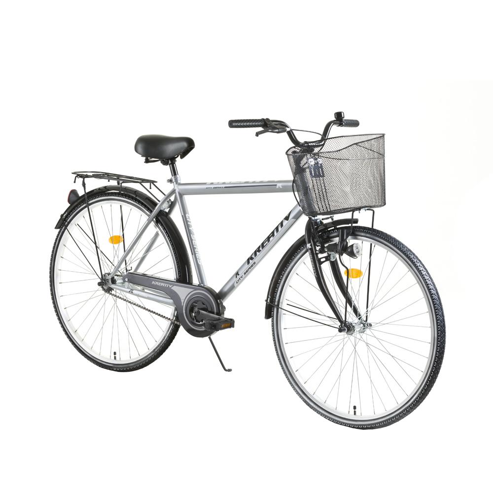 Trekingový bicykel Kreativ City Series 2811 - model 2017 Grey - Záruka 10 rokov
