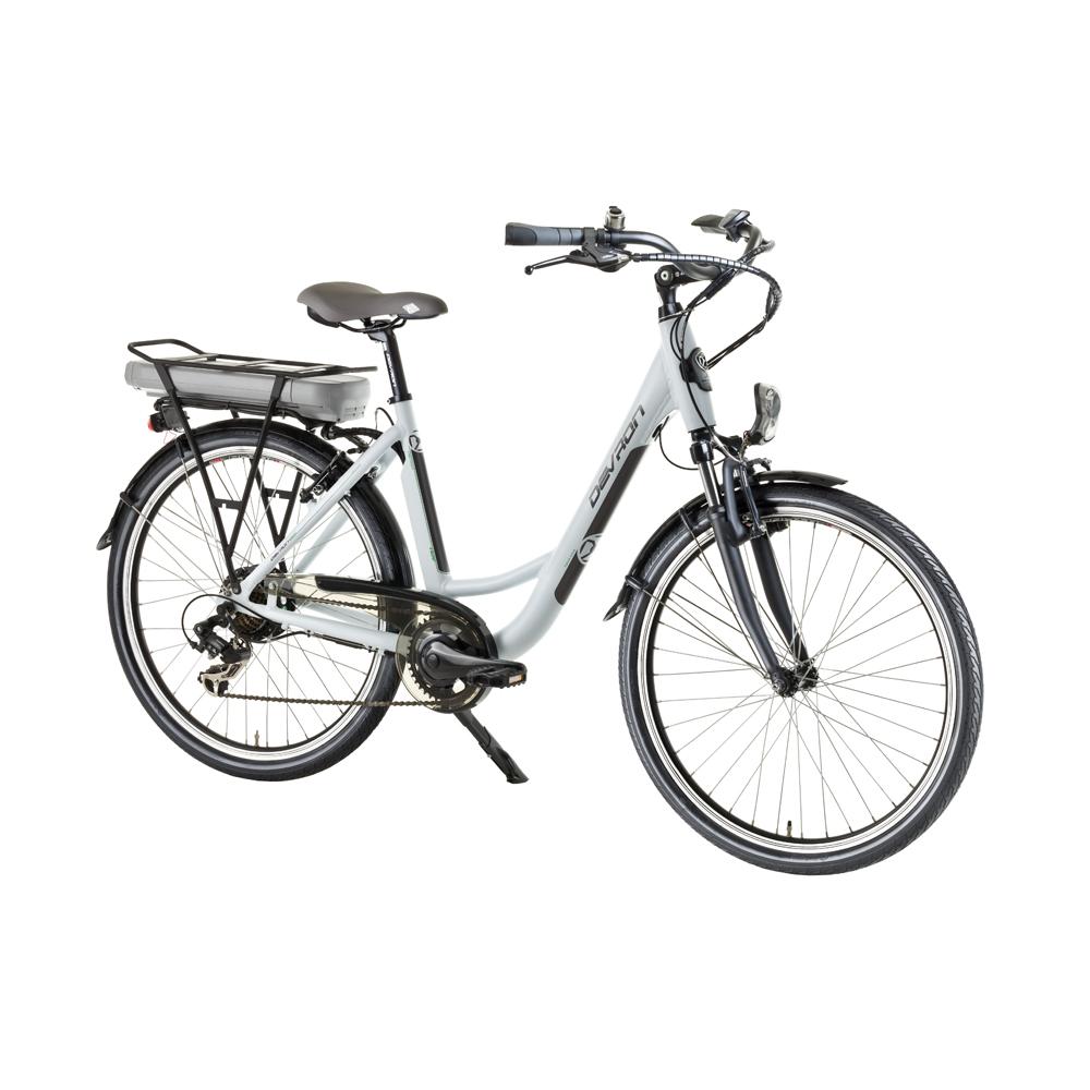 "Mestský elektrobicykel Devron 26122 - model 2016 Pure White - 18"" - Záruka 10 rokov"