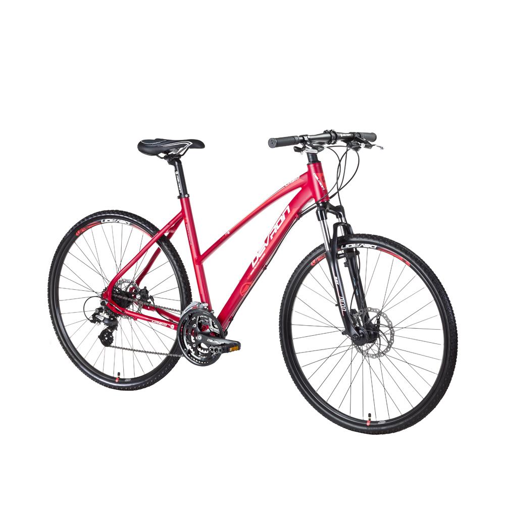 Dámsky crossový bicykel Devron Urbio LK2.8 - model 2016