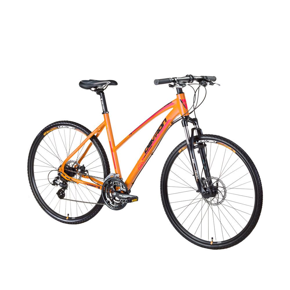 """Dámsky crossový bicykel Devron Urbio LK2.8 - model 2016 Mandarin Dream - 20,5"""" - Záruka 10 rokov"""