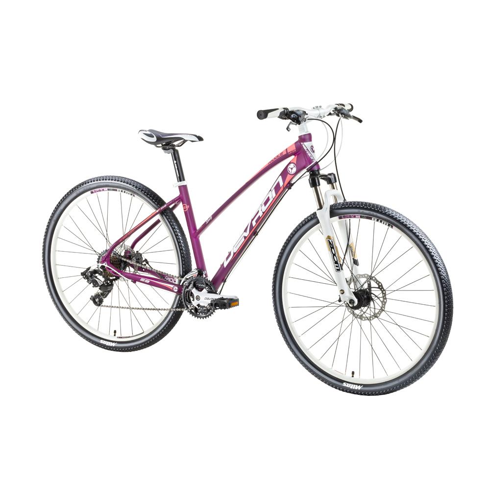 """Dámsky horský bicykel Devron Riddle LH0.9 29"""" - model 2016 Nasty Violet - 18"""" - Záruka 10 rokov"""
