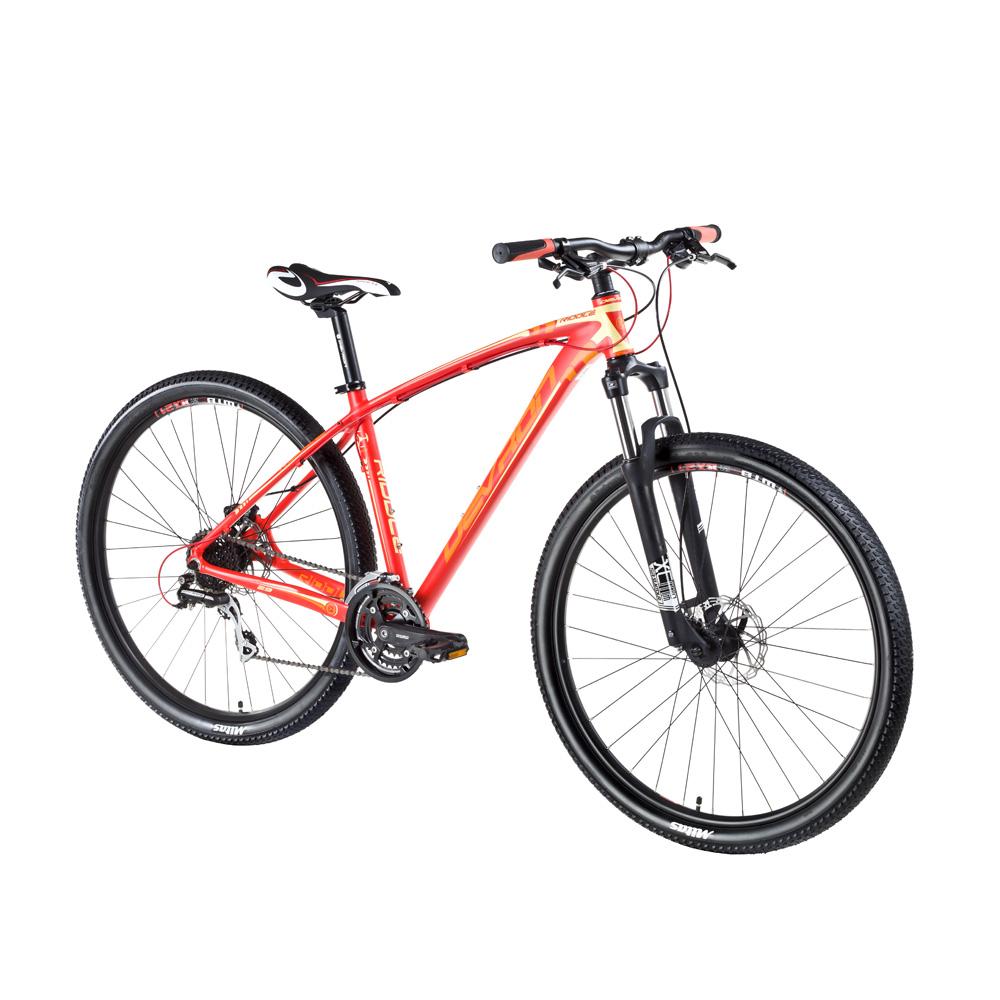 "Horský bicykel Devron Riddle H1,9 29"" - model 2016 Salsa Red - 18"" - Záruka 10 rokov"