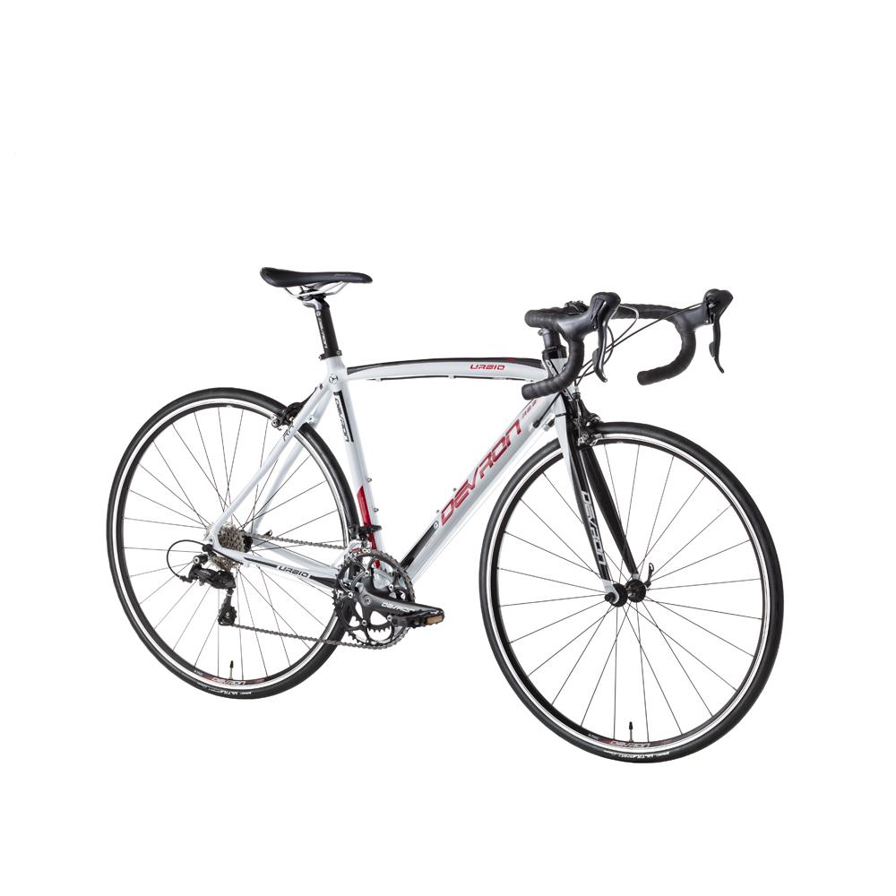 "Cestný bicykel Devron Urbio R2.8 - model 2016 White Fury - 520 mm (20,5"") - Záruka 10 rokov"