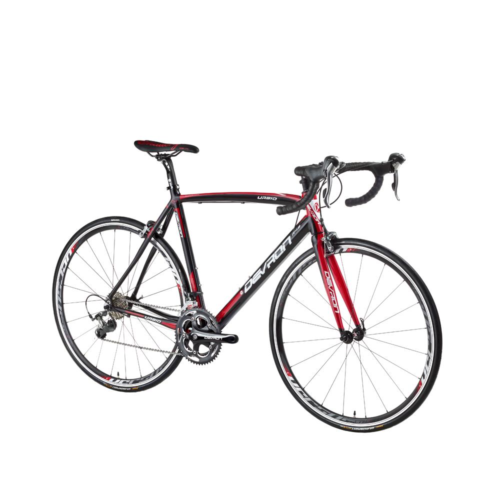 "Cestný bicykel Devron Urbio R4.8 - model 2016 Speed Black - 520 mm (20,5"") - Záruka 10 rokov"