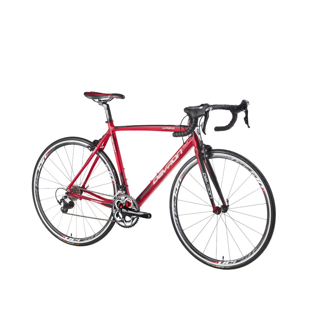 "Cestný bicykel Devron Urbio R6.8 - model 2016 Devil Red - 540 mm (21,25"") - Záruka 10 rokov"