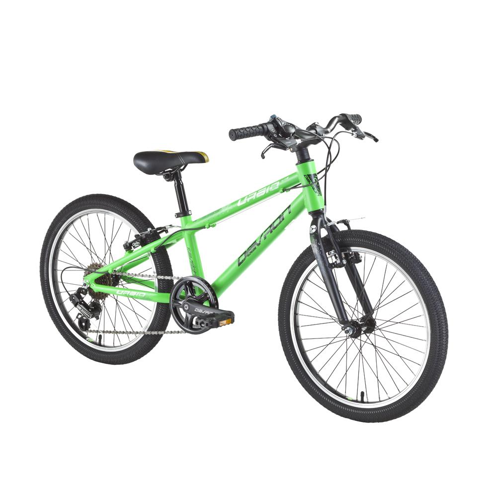 """Detský bicykel Devron Urbio U1.2 20"""" - model 2017 Kiwi Madness - 10"""" - Záruka 10 rokov"""