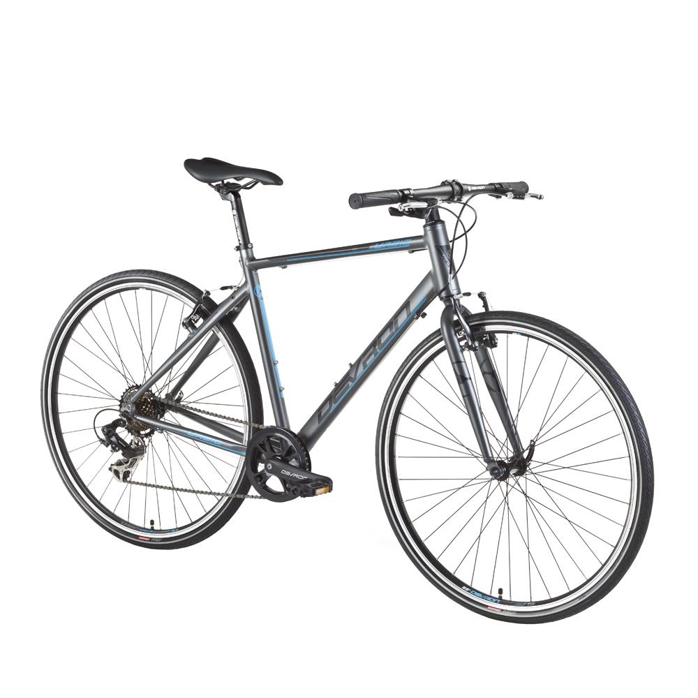 """Crossový bicykel Devron Urbio U1.8 - model 2016 Ice Grey - 20,5"""" - Záruka 10 rokov"""