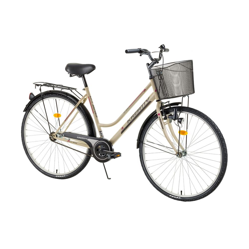 Dámsky trekingový bicykel Kreativ Comfort 2812 - model 2017 Ivory - Záruka 10 rokov