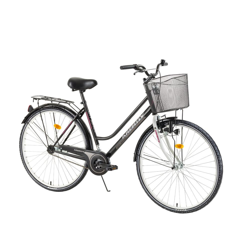 Dámsky trekingový bicykel Kreativ Comfort 2812 - model 2017 Black - Záruka 10 rokov
