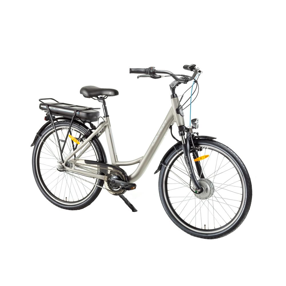 "Mestský elektrobicykel Devron 26120 26"" - model 2017 Champagne - 18"" - Záruka 10 rokov"