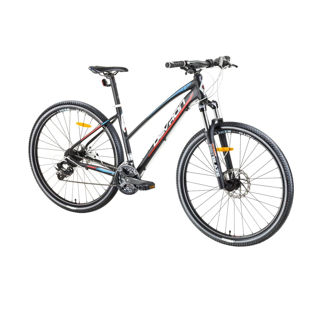 "Dámsky horský bicykel Devron Riddle LH0.9 29"" - model 2017 Dark Tangerine - 18"" - Záruka 10 rokov"