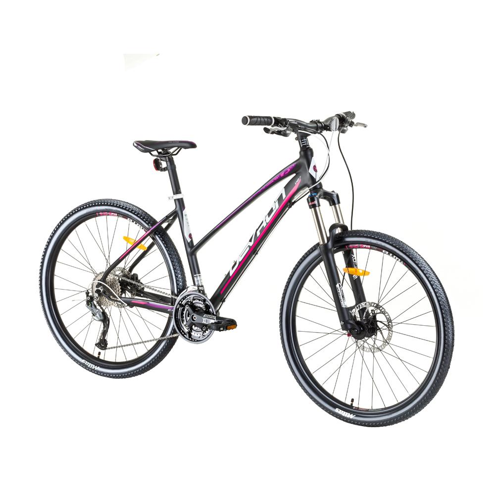 """Dámsky horský bicykel Devron Riddle LH2.7 27,5"""" - model 2017 Hot Berry - 18"""" - Záruka 10 rokov"""