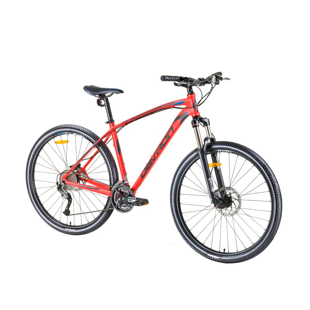 "Horský bicykel Devron Riddle H2.7 27,5"" - model 2017 Orange Split - 18"" - Záruka 10 rokov"