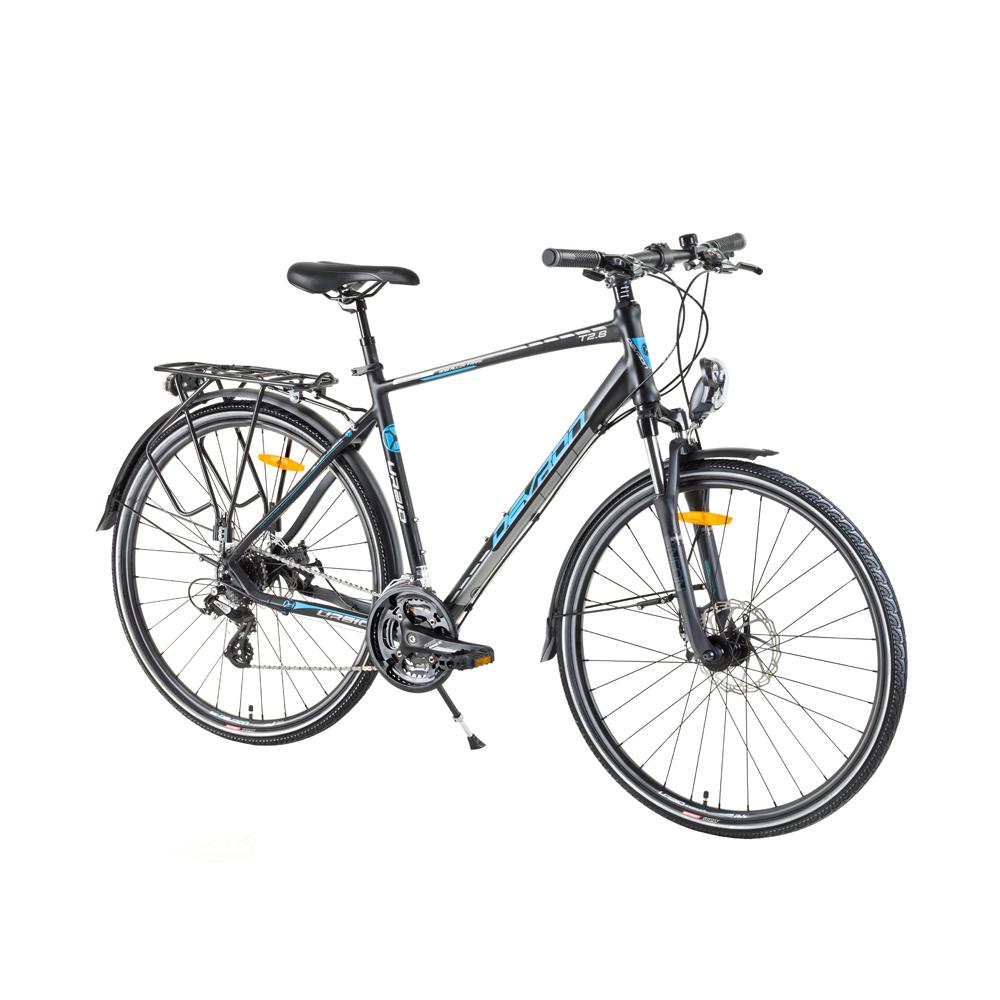 """Trekingový bicykel Devron Urbio T2.8 - model 2017 Acid Black - 19,5"""" - Záruka 10 rokov"""