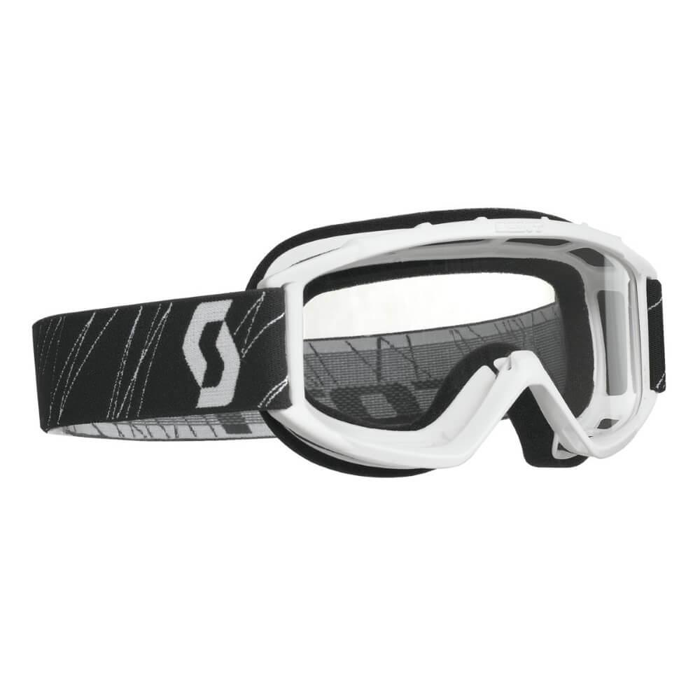 Detské moto okuliare SCOTT 89Si MXVII white