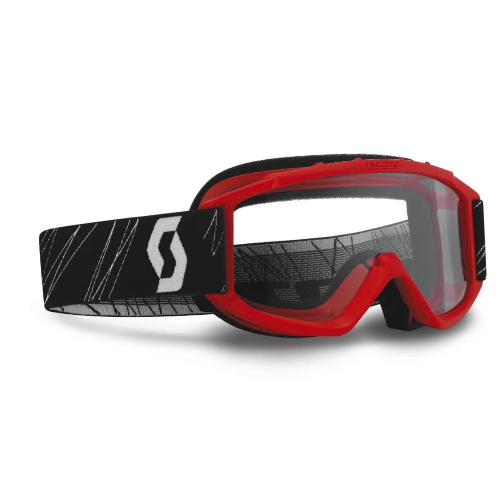 Detské moto okuliare SCOTT 89Si MXVII Red