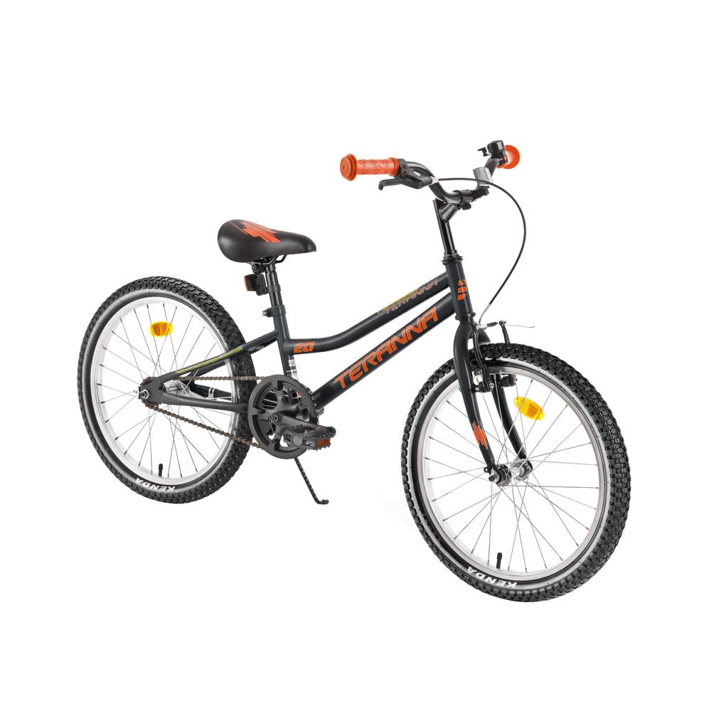"""Detský bicykel DHS Teranna 2001 20"""" - model 2018 Black - Záruka 10 rokov"""