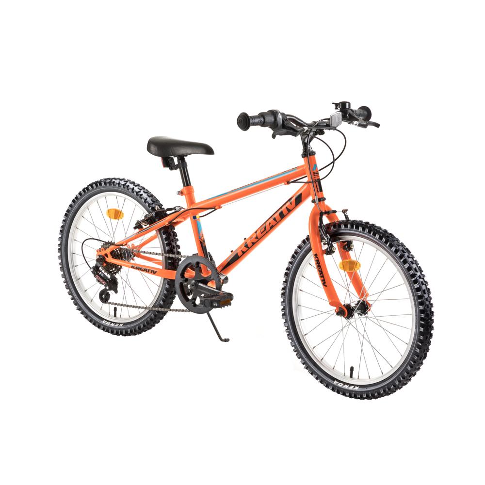 """Detský bicykel Kreativ 2013 20"""" - model 2018 Orange - Záruka 10 rokov"""