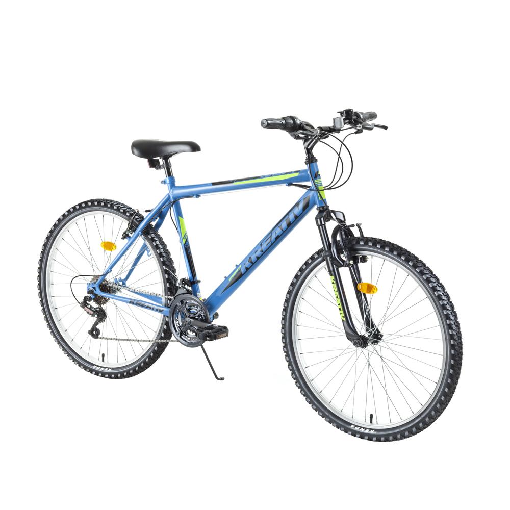 "Horský bicykel Kreativ 2603 26"" - model 2018 Light Blue - Záruka 10 rokov"